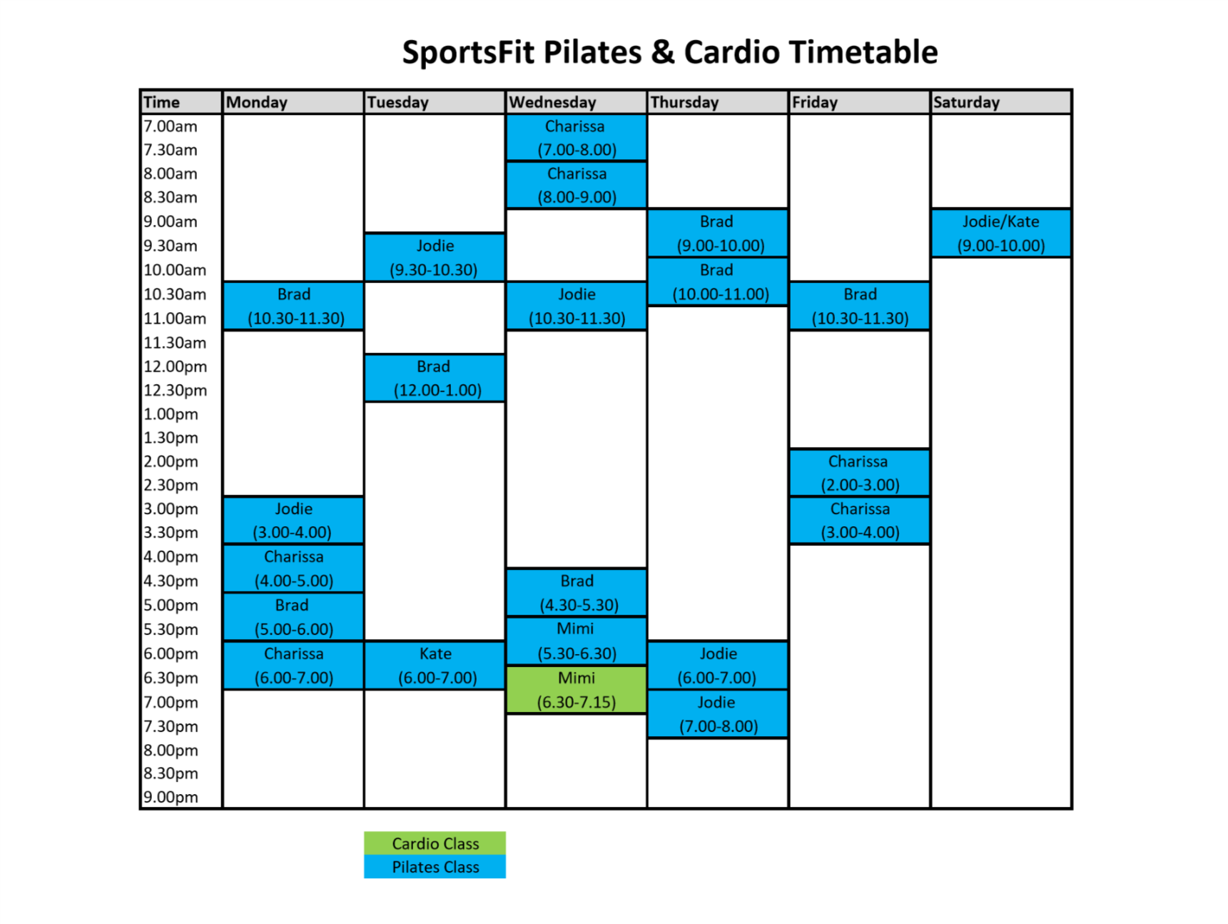 pilates-timetable-4-april-2018