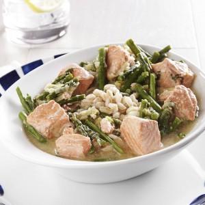 salmon-asparagus-farro-bowl